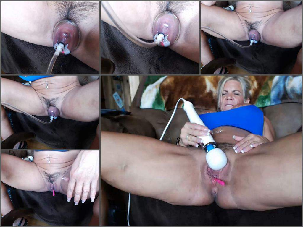 Big clit vid pumping