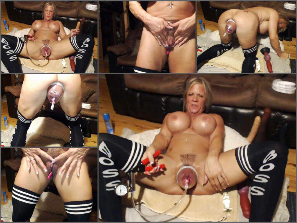 Amazing milf gets pumped with cock