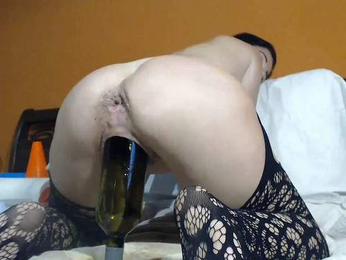 Queenvivian bottle anal,Queenvivian bottle rides,bottle penetration,huge dildo in ass,dildo anal,dildo fuck in anus,stretching gape,double fisting,double vaginal penetration