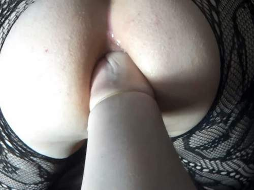 Homemade POV anal fisting domination with Mary_Style